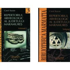 Repertoriul arheologic al judeţului Maramureş,volumele I-II