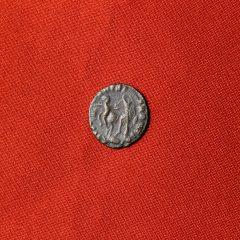Monedă romană de bronz Constantius II