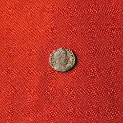 Monedă romană de bronz Valentinianus I
