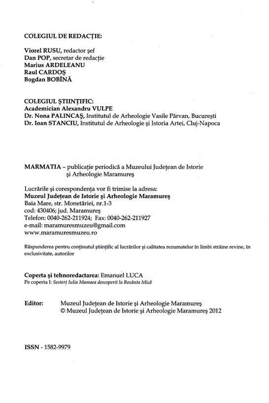 Marmatia_2012_redactia