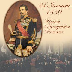 Unirea Principatelor Române. 24 Ianuarie 1859