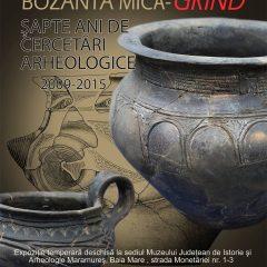"""Vernisajul expoziției """"Bozânta Mică – Grind. Șapte ani de cercetări arheologice (2009-2015)"""""""