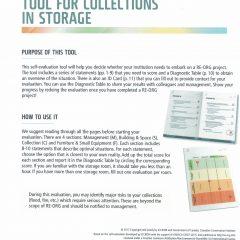 Metoda RE-ORG de evaluare a depozitelor muzeale