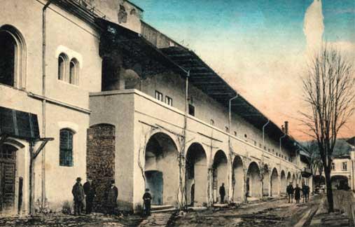Sediul Directiei minelor si uzinelor metalurgice din Baia Mare, fotografie de la inceputul secolului XX (astazi, sediul Muzeului Judetean de Istorie si Arheologie Maramures)