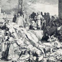 """Ciuma la Roma, când """"oamenii mureau ca muștele"""" și se săpau gropi comune"""
